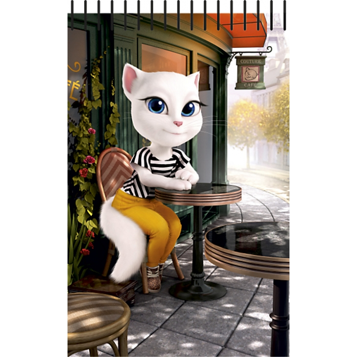 NOTES TALKING TOM / TALKING ANGELA A6 SPIRALA